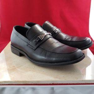 Perry Ellis Portfolio Black Men's Dress Shoes Sz 5